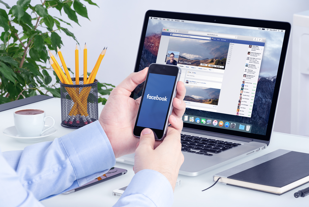 Facebook app and desktop