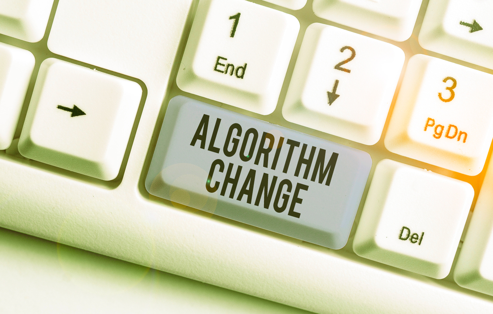 Algorithm change button